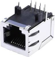 RJ45 beépíthető csatlakozó aljzat, 8P8C, vízszintes, BEL Stewart Connectors SS64800-056F (SS64800-056F) BEL Stewart Connectors