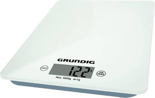 Digitális konyhai mérleg, fehér, Grundig KW 4060 GMN3540