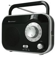Táskarádió, asztali rádió UKW, MW fekete színű, Soundmaster TR410SW soundmaster