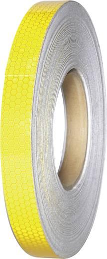 Fényvisszaverő ragasztószalag, sárga, 45 m x 19 mm, 1 tekercs, Conrad