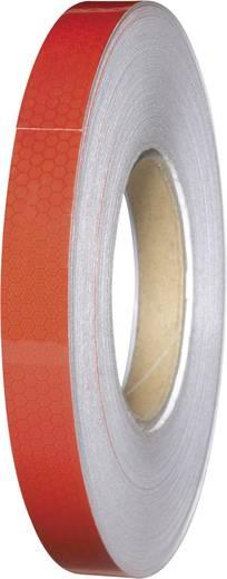 Fényvisszaverő ragasztószalag, piros, 45 m x 19 mm, 1 tekercs, Conrad