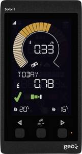Energia költségmérő GEO Green Energy Options LCD; (PCK-S2-007) GEO