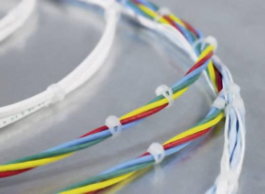 Kábelkötöző 90°-ban hajlított fejjel (H x Sz) 150 mm x 3.3 mm V150R Szín: Szürke 1 db HellermannTyton