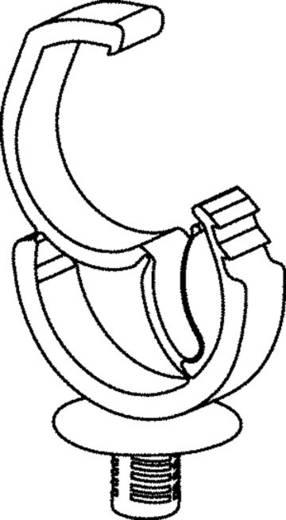 Kábeltartó vezetékekhez, önzáró Köteg Ø: 28 mm AHC3SB Fekete HellermannTyton Tartalom: 1 db