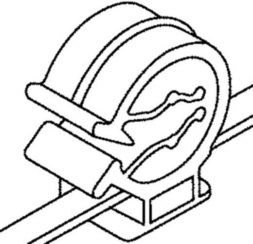 Kábelkötegelő kábeltartóval 200 x 4,6 mm, fekete, 1 db, HellermannTyton 156-00036 T50ROC1A