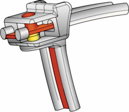 Kábelkötöző üvegszál erősítésű stiftes záródással 337 x 8 mm KR8/33-W-BK-L1 fekete (UV álló) HellermannTyton