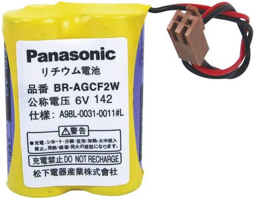 BRAGCF2W lítium elem kábellel, 6V 1800 mAh, 50 x 28 x 14 mm, Panasonic