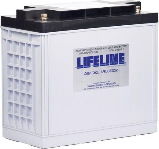 Ólomakku 12 V 150 Ah LifeLine GPL30HT 12V 150Ah GPL30HT Ólomzselés 324 x 304 x 170 mm Karbantartásmentes,Ciklusálló