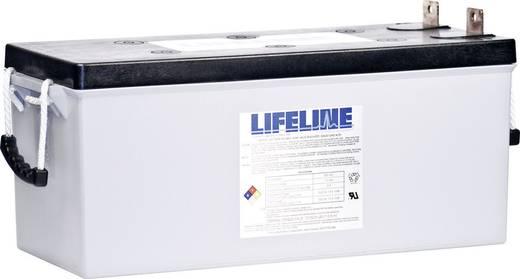 Ólomakku 12 V 210 Ah LifeLine GPL4DL 12V 210Ah GPL4DL Ólom-vlies (AGM) 527 x 261 x 220 mm Karbantartásmentes,Ciklusálló