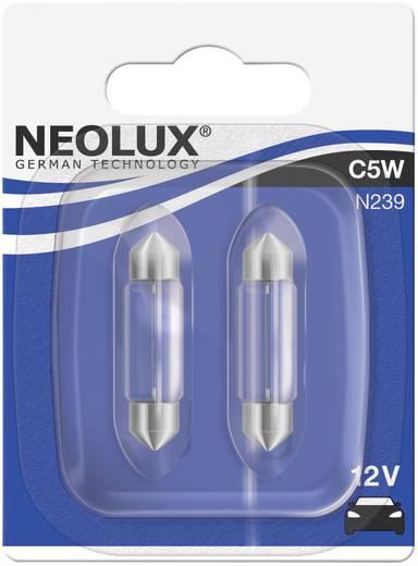 Neolux Standard izzólámpa Szofitta, C5W 12 V 12 V SV8,5-8 (Ø x H) 11 mm x 38 mm