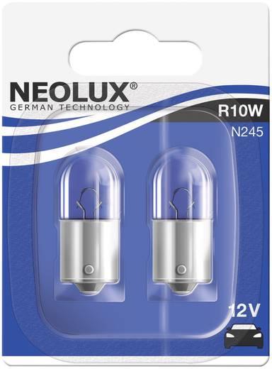 Neolux Standard izzólámpa R10W 12 V 12 V 1 pár BA15s