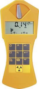 Radioaktivitásmérő, sugárzásmérő Geiger számláló, riasztás funkcióval, tölthető akkuval GAMMA-SCOUT® (Rechargeable) Gamma Scout