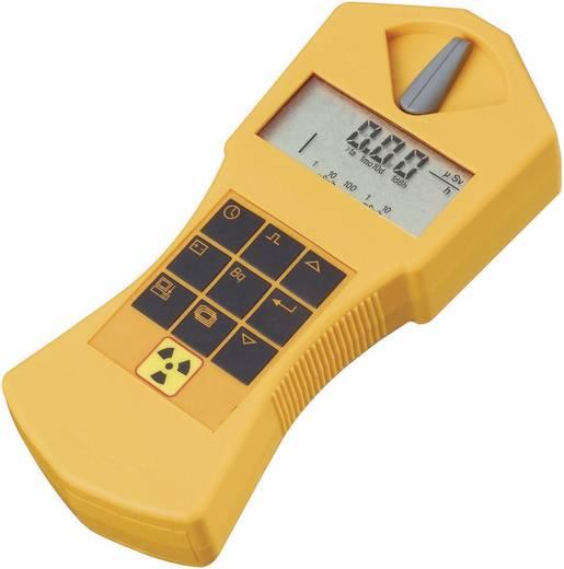 Radioaktivitásmérő, sugárzásmérő Geiger számláló, riasztás funkcióval, tölthető akkuval GAMMA-SCOUT®