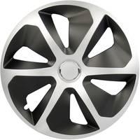 Autó dísztárcsa készlet 4 db, ezüst/fekete, Cartrend Roco R16 (70392) cartrend