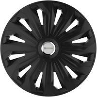 Autó dísztárcsa készlet 4 db, fekete (matt), Michelin Fabienne R14 Michelin