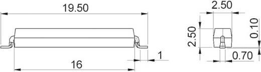 SMD Reed érzékelő StandexMeder Electronics MK15-C-2 1 záró 0.5 A 180 V 10 W