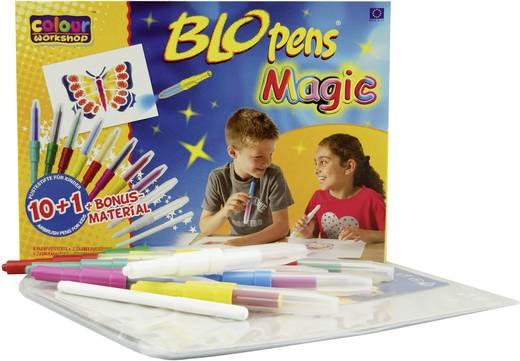 Festékszóró filctollak, Malinos Blopens Magic 10+1