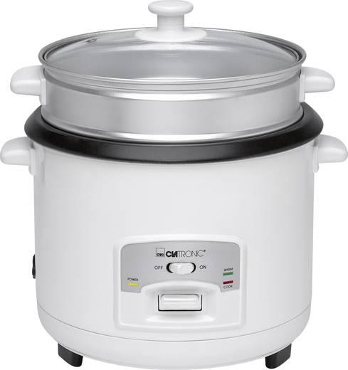 Elektromos rizsfőző és pároló, fehér, Clatronic RK 3566