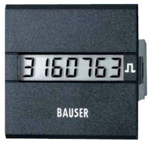 Digitális impulzus számláló modul 12-24V/DC 45x45mm Bauser 3811.2.1.1.0.2