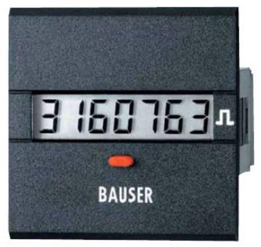 Digitális impulzus számláló modul 12-24V/DC 45x45mm Bauser 3811.3.1.1.0.2