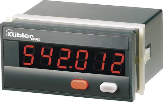 Fordulatszámmérő modul, tachométer modul 90-260V/AC beépítési méret 92 x 45mm Kübler Codix 542