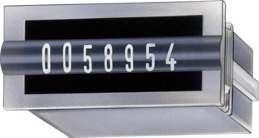 Mechanikus összegző számláló modul 7 digites 24V/DC beépítési méret 30 x 13mm Kübler AK 07.20 Typ.K 07