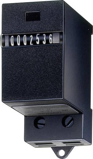 Mechanikus összegző számláló modul DIN sínre szerelhető 7 digites 24V/DC beépítési méret 58 x 30mm Kübler SK 07.1