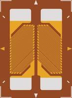 Nyúlásmérő csík 1 db ECF-350-3HA-A-(23)-O-SP (H x Sz) 9.4 mm x 6.7 mm