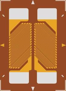 Nyúlásmérő csík 1 db ECF-350-3HA-A-(11)-O-SP (H x Sz) 9.4 mm x 6.7 mm