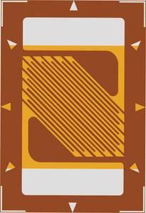 Nyúlásmérő csík 1 db ECF-350-3AB-(16)-O-SP (H x Sz) 8.2 mm x 5.4 mm