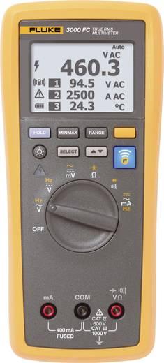 Grafikus, többsoros digitális multiméter, True RMS adattárolós, bluetooth kapcsolat Fluke FLK-3000 FC Grafik