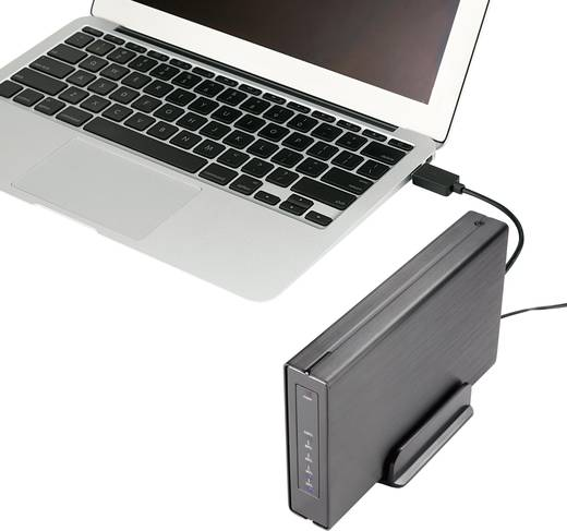 SATA merevlemez doboz 2.5 , 3.5 Renkforce HD325U3J USB 3.0