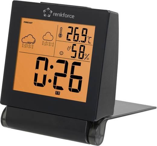 Hőmérséklet és légnedvesség mérő időjárás előrejelzéssel, Renkforce