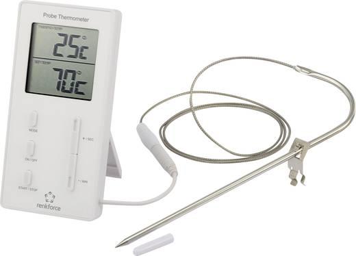 Beszúró hőmérő időzítővel és riasztóval, Renkforce