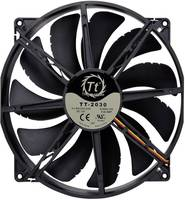 Számítógépház ventilátor 200 x 200 x 30 mm, Thermaltake CL-F015-PL20BL-A (CL-F015-PL20BL-A) Thermaltake