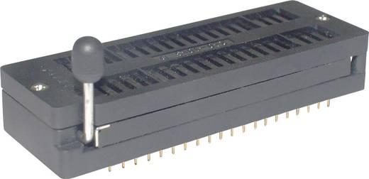 IC tesztfoglalat 15.24 mm Pólusszám: 40 ZIF40GB 1 db