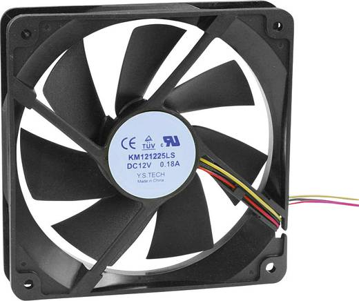 Axiális ventilátor (ipari) 12 V/DC 65.22 m³/h (Sz x Ma x Mé) 120 x 120 x 25 mm KM121225LS(1A1)