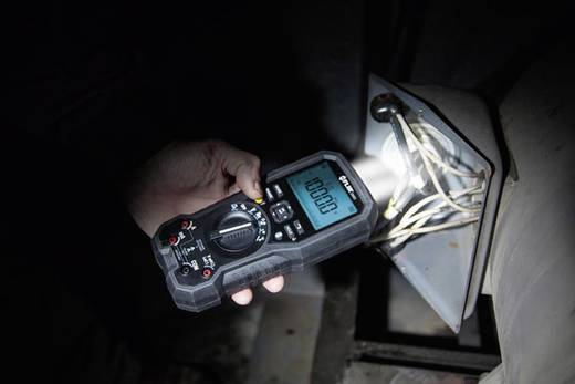 Digitális multiméter, mérőműszer bluetooth funkcióval, LED-es munkalámpával 10A AC/DC FLIR DM93