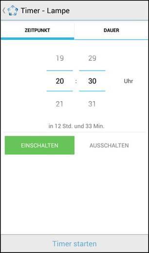 Bluetooth-os vezeték nélküli kapcsolható dugaszolóaljzat, 2,4 GHz, 10 m, Renkforce BS-21