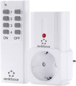 Vezeték nélküli kapcsoló készlet, 2 részes, max. hatótáv 30 m, Renkforce Renkforce