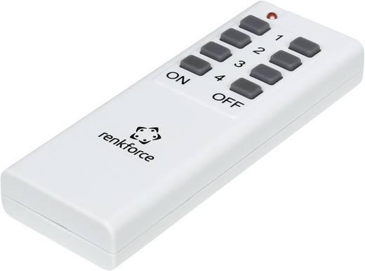 Vezeték nélküli kapcsoló készlet, 4 részes, max. 30 m, renkforce