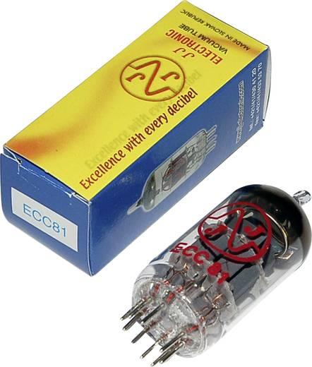 Elektroncső ECC 81 = 12 AT 7, pólusszám 9, novál foglalat, HF kettős trióda