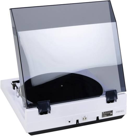 Dual DT 210 lemezjátszó, USB digitalizáló lemezjátszó, fehér színű DT 210