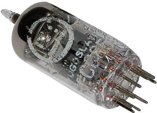 Elektroncső ECC 85 = 6 AQ 8, pólusszám 9, novál foglalat, HF kettős trióda