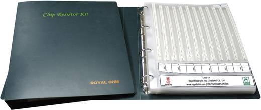Vastagréteg ellenállás készlet SMD 0603 0.1 W 5 % Royalohm 0603SAJE024KIT 12100 db