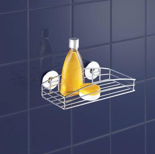 Fürdőszobai fali tartó, ezüst, Wenko 20883500
