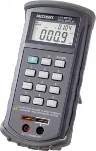 LCR mérőműszer, induktivitás, kapacitás, ellenállásmérő Voltcraft LCR 4080 VOLTCRAFT