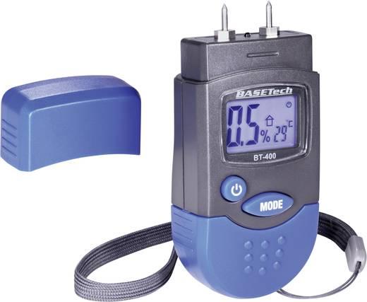 Anyagnedvesség mérő, fanedvesség és épületnedvesség mérő Basetech BT-400
