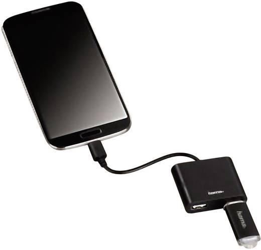 2 portos USB 2.0 Hub, elosztó OTG funkcióval Hama 54140