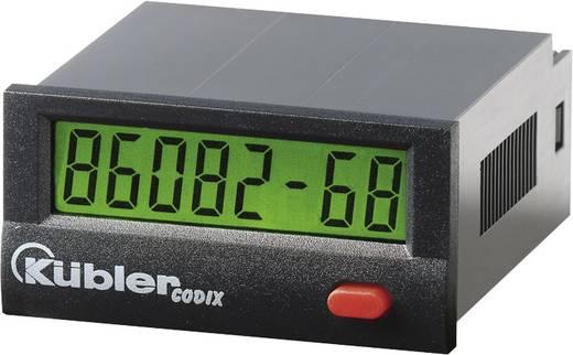 Üzemóra számláló modul 4 - 30V/DC 99999h59m/ 99999.99 h, PNP Kübler Codix 134 HB